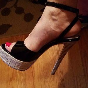 DV by Dolce Vita Shoes - dv Dolce Vita Patent Platform Heel